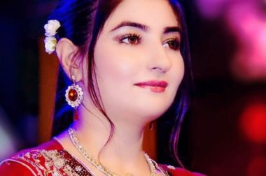 Pakistani Pashto Singer Gul Panra Came Live on FaceBook A Few Days Ago