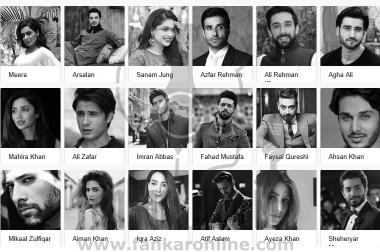 How to Contact Pakistani Actor and Actresses
