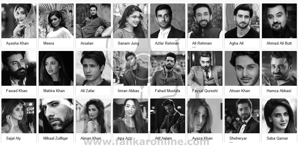 How to Contact Pakistani Actor and Actresses hire famous singers