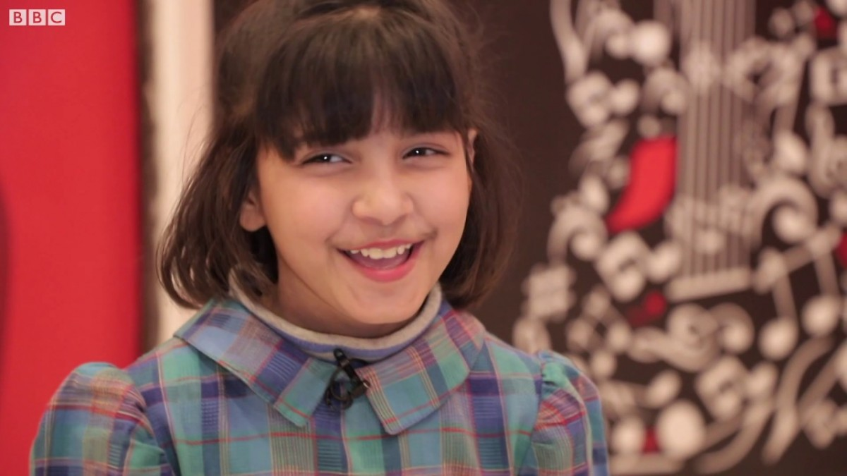 Little Girl with Big Vocals Hadia Hashmi hire famous singers