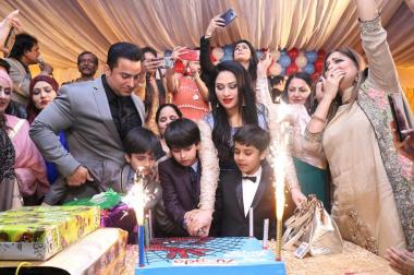 Humaira Arshad Celebrated Birthday of her Son