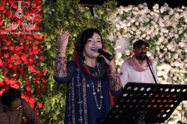 Sara Raza Khan performed in Lahore at WCB