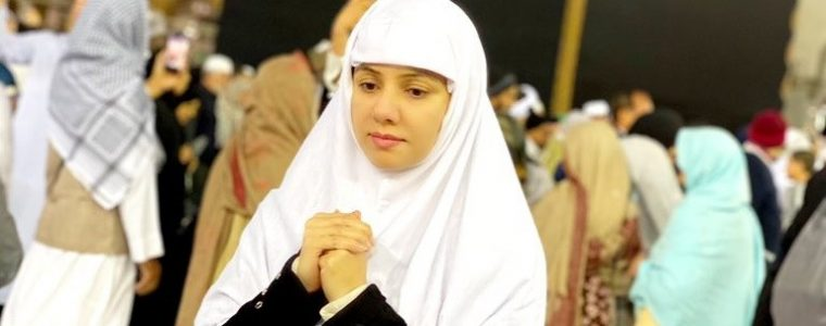 Rabi Pirzada performed Umrah, On way to new journey of her Life
