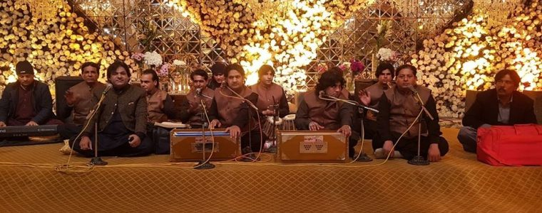 Sher Miandad performed Qawali at Barki Road Lahore