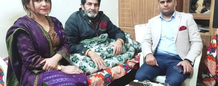 Zuhaib Ramzan Bhatti visited Ghafar Lehri's Home, His health condition worsens
