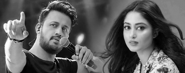 Sajal Ali will appear in next song of Atif Aslam